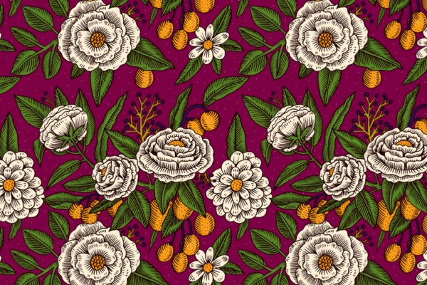 Tapete Floral