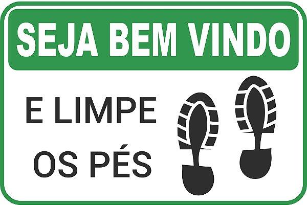 Tapete Limpe os pés