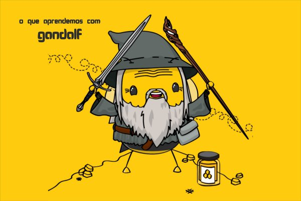 Tapete Gandalf