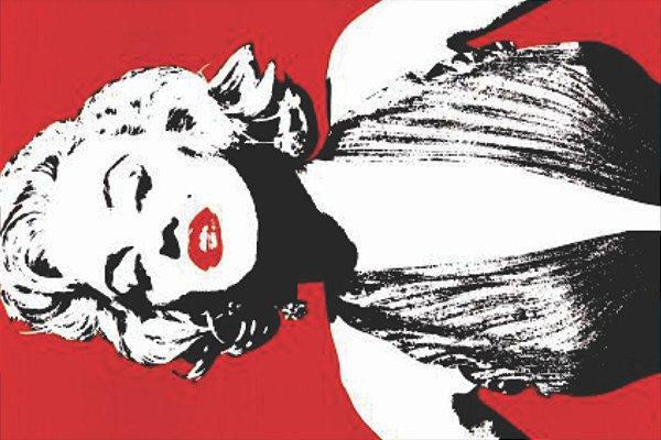Tapete Marilyn Monroe