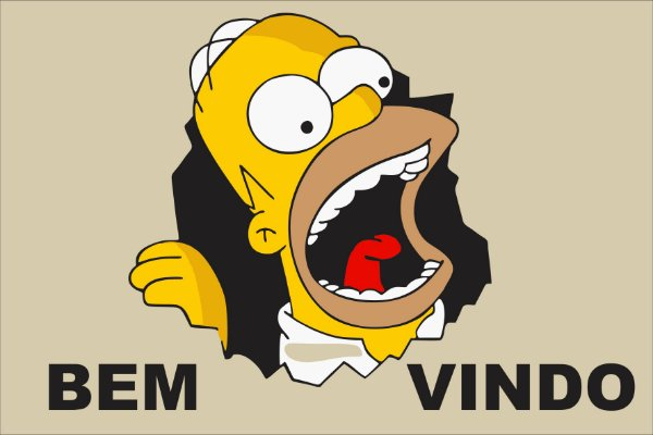 Tapete bem vindo Homer Simpsons