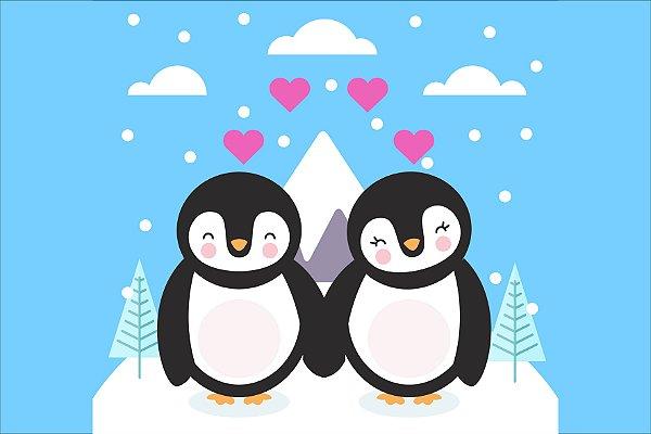 Tapete pinguin