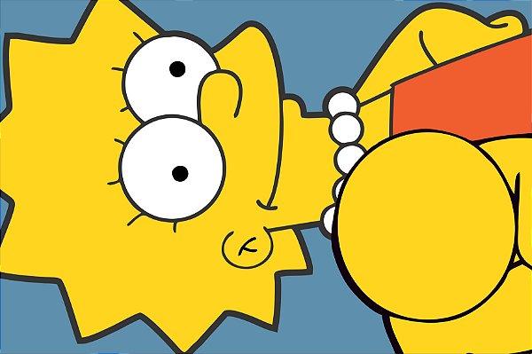 Tapete Lisa Simpsons