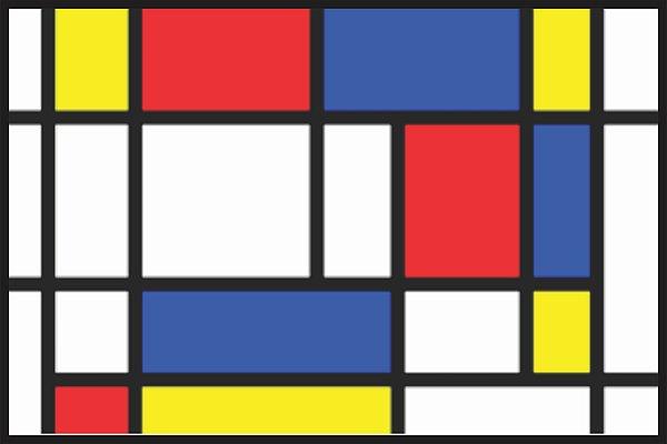 Tapete Mondrian
