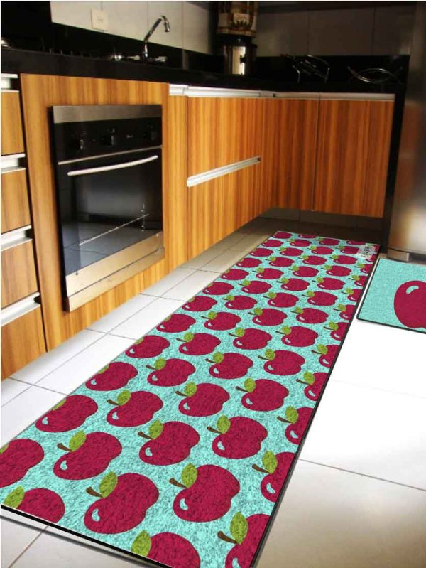 Kit Cozinha Maçãs