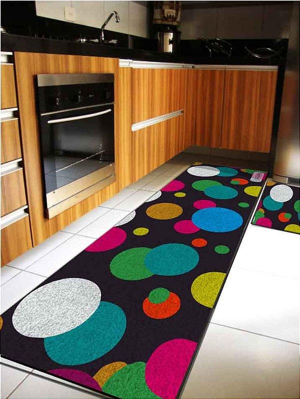 Kit Cozinha Esferas coloridas
