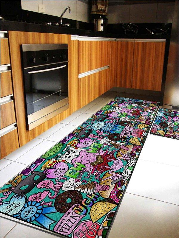 Kit Cozinha Multicolorido