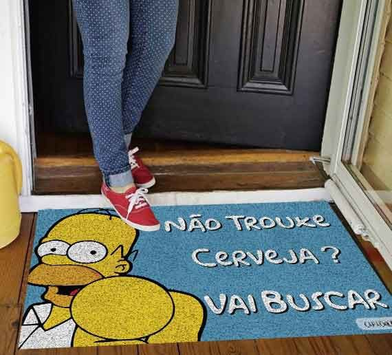 Tapete Homer trouxe cerveja