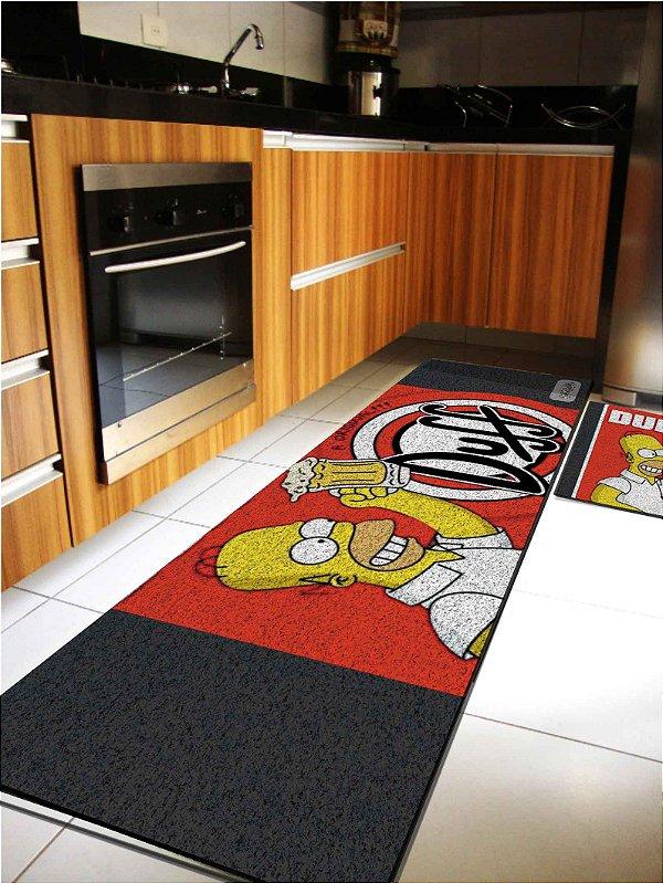 Kit Cozinha Homer Duff Preto