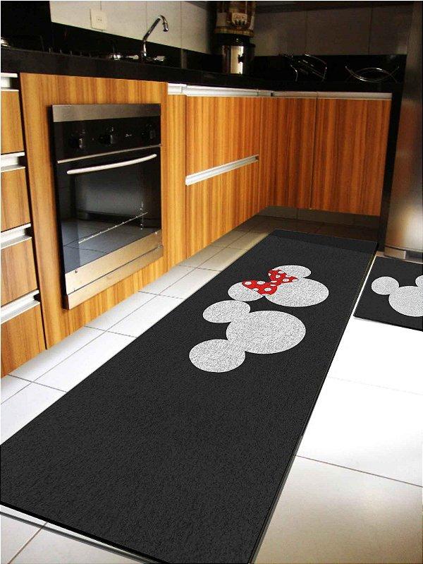 Kit Cozinha Mickey Preto