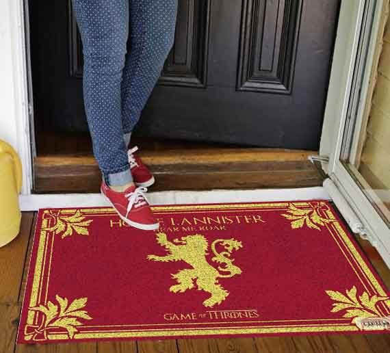 Capacho Game of Thrones - LANNISTER