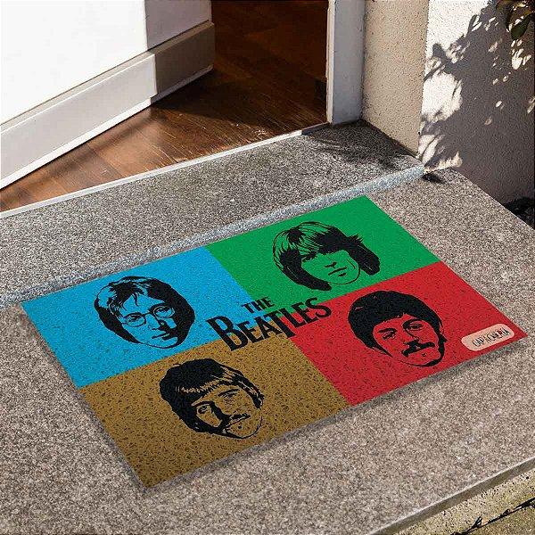 Capacho The Beatles 4 Cores