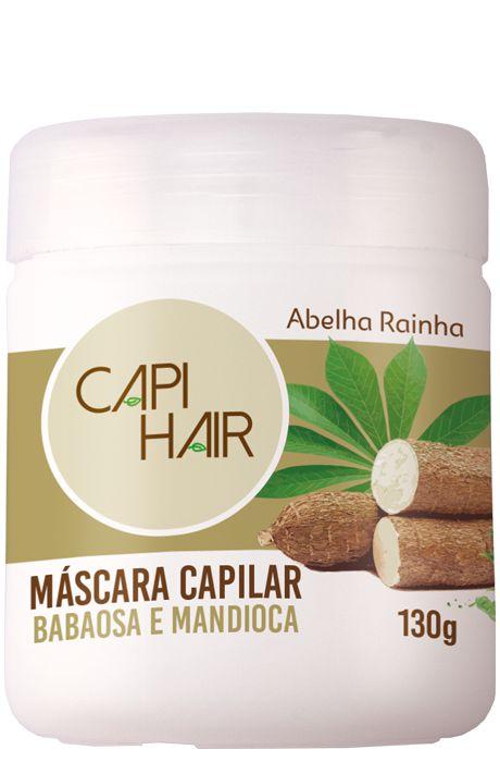1027 CAPI HAIR COQUETEL NUTRITIVO MANDIOCA E BABOSA 130g