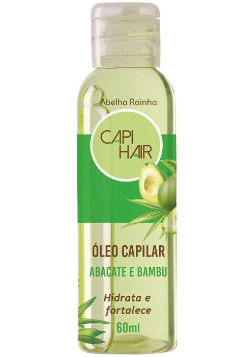 1033 CAPI HAIR ÓLEO PARA OS CABELOS ABACATE E BAMBU 60ml