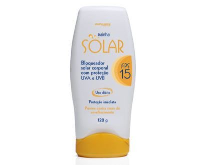3129 RAINHA SOLAR – BLOQUEADOR SOLAR CORPORAL FPS-15 – 120 g