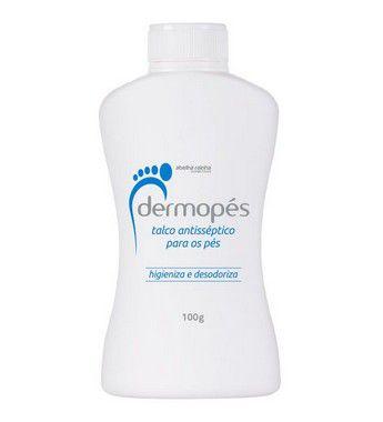 2047** DERMOPES - TALCO ANTISSÉPTICO PARA OS PÉS 100 G