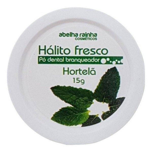 2130  HALITO FRESCO - PÓ DENTAL BRANQUEADOR HORTELÃ 15 G