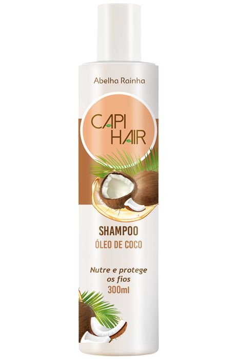 1247 CAPI HAIR – SHAMPOO FORTALECEDOR DE ÓLEO DE COCO – 300g