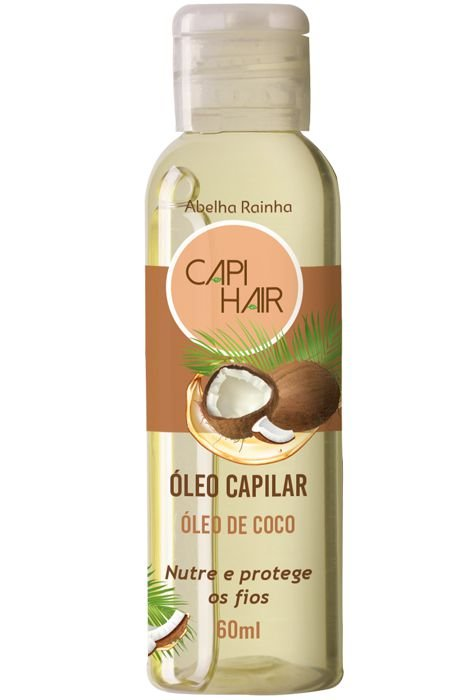 1250 CAPI HAIR – ÓLEO CAPILAR ÓLEO DE COCO – 60ml