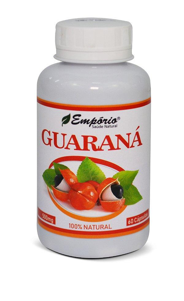 1261 Guaraná 500mg 60 Cápsulas