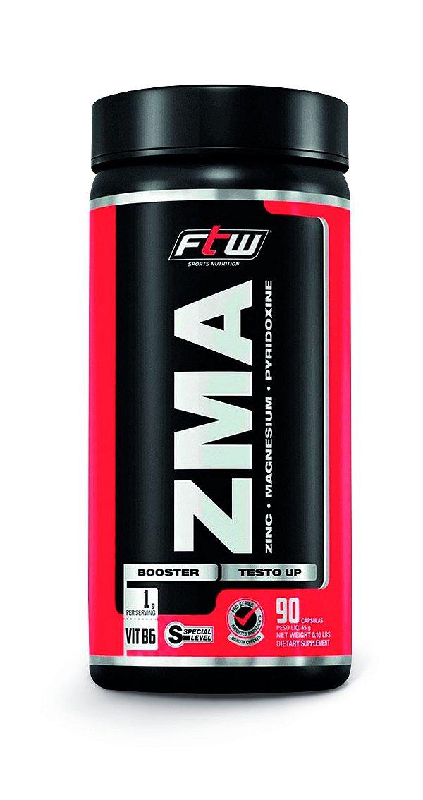 1055 ZMA Suplemento Vitamínico Mineral à base de Magnésio, Zinco e Vitamina B6 90 Cápsulas