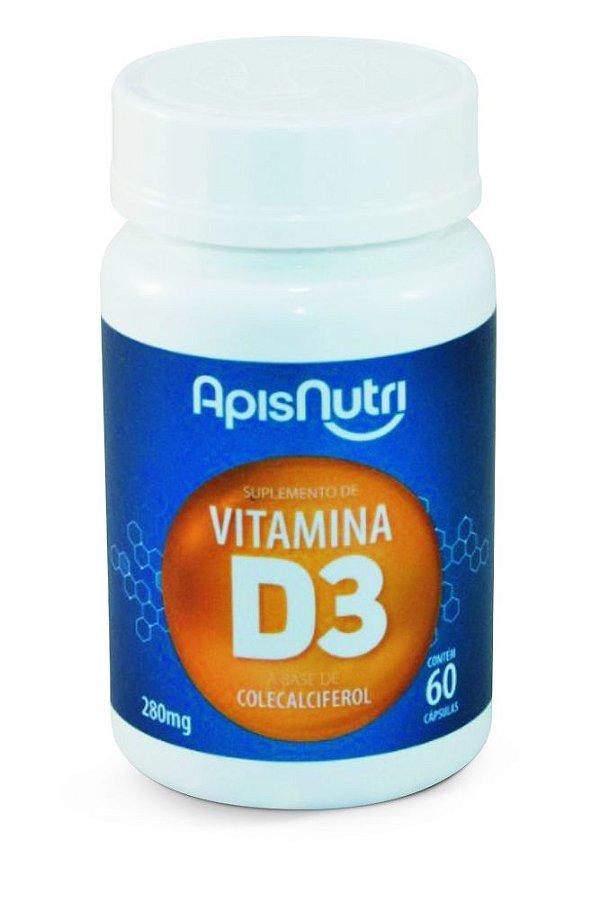 1010 Vitamina D3 280mg 60 Cápsulas