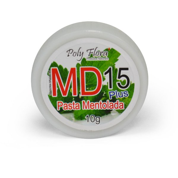 1246 Pasta Mentolada MD15 Plus 10g