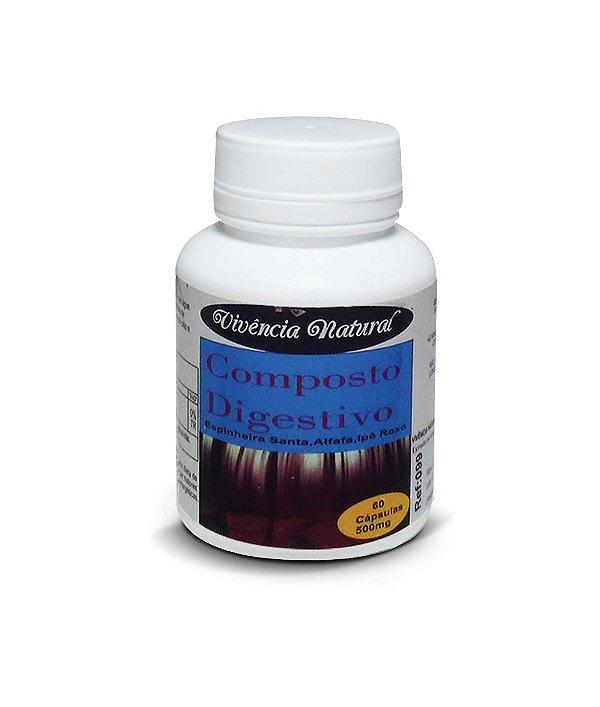 7034 Composto Digestivo 500mg 60 Cápsulas