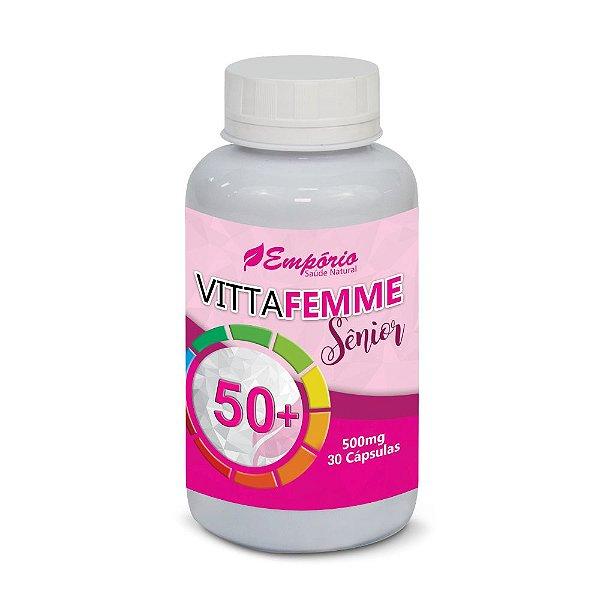 1300 Vitta Femme Sênior 50 + 30 cápsulas
