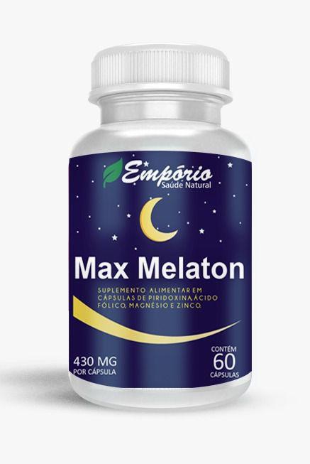 1322 Max Melaton 430mg 60 Cápsulas