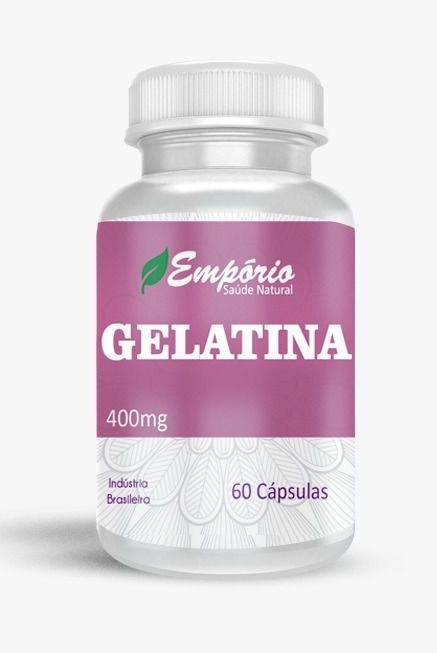 1334 Gelatina 400mg 60 Cápsulas