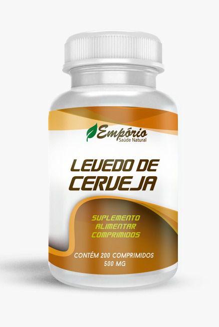 1361 Levedo De Cerveja 500mg 200 Comprimidos