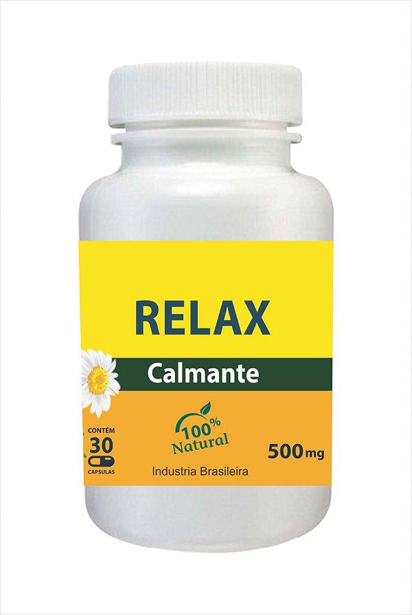 7073 Relax 500mg 30 Cápsulas