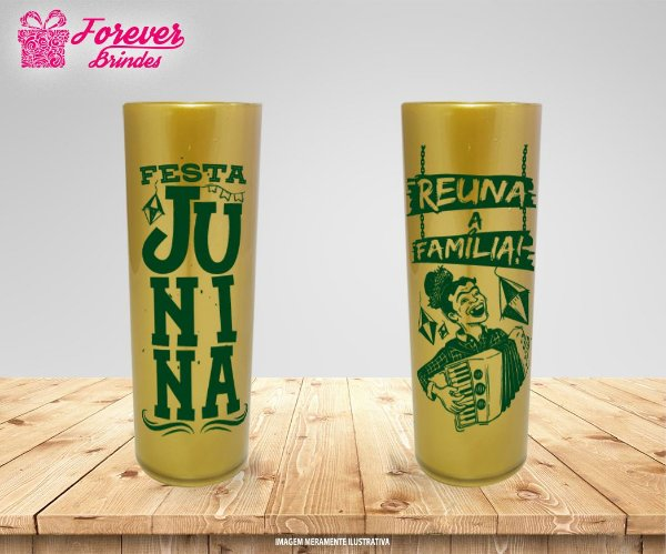 Copo Long Drink  Festa de São João