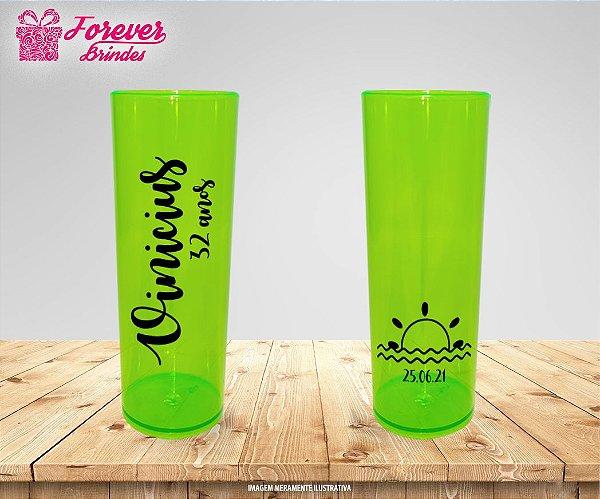 Copo Long Drink Neon