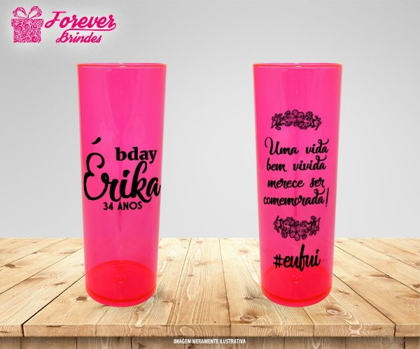 Copo Long Drink Bday