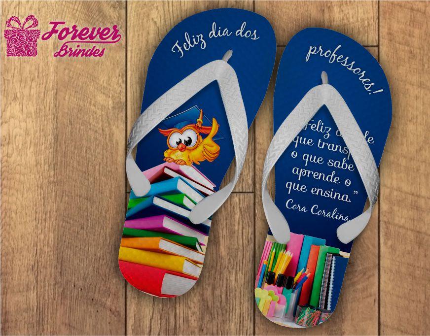 Chinelo Dia Dos Professores Livros