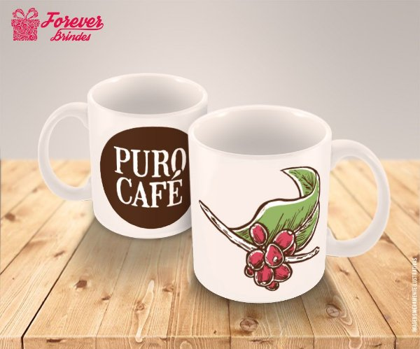 Caneca Porcelana Café