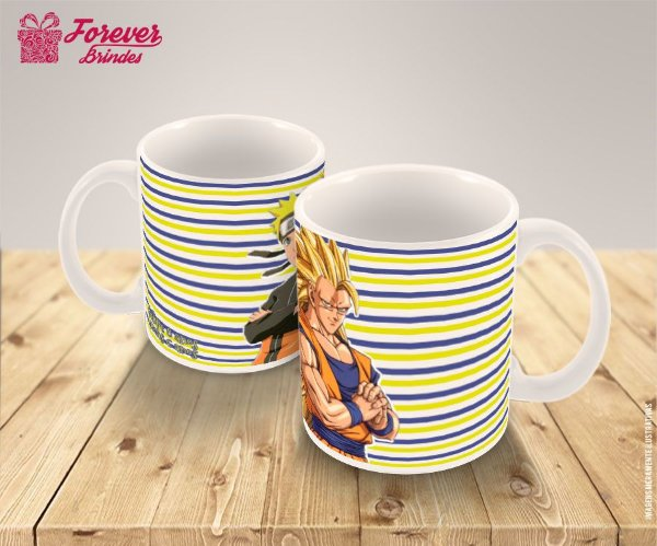 Caneca Personalizada Dragon Ball