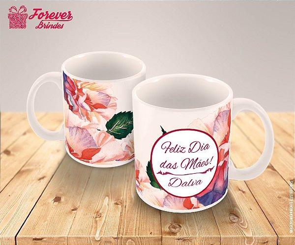 Caneca Porcelana personalizada Dia das Mães