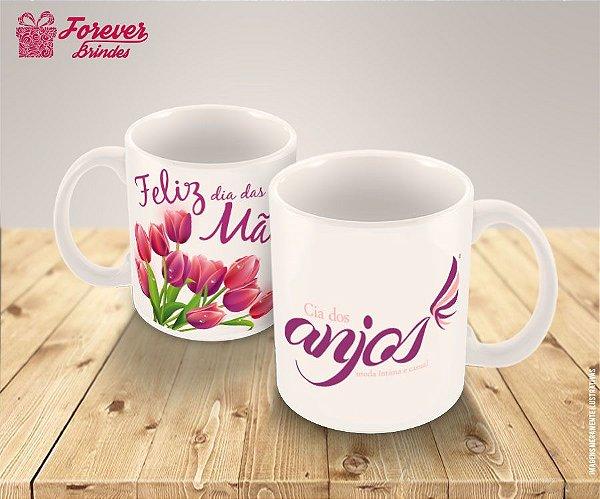 Caneca Feliz dia das Mães