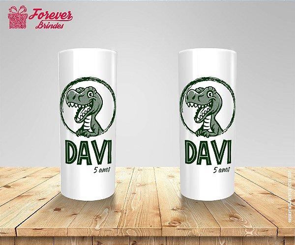 Copo Long Drink Aniversário Dinossauro