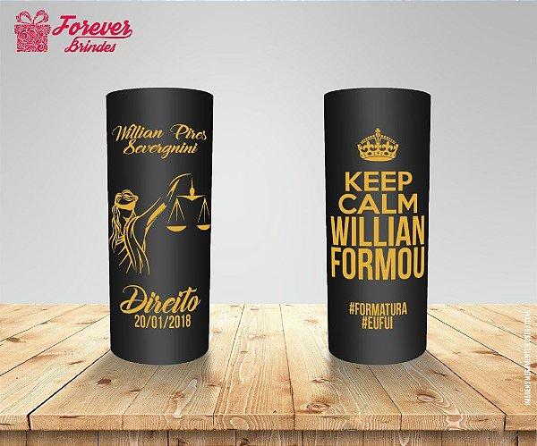 Copo Long Drink Direito Keep Calm
