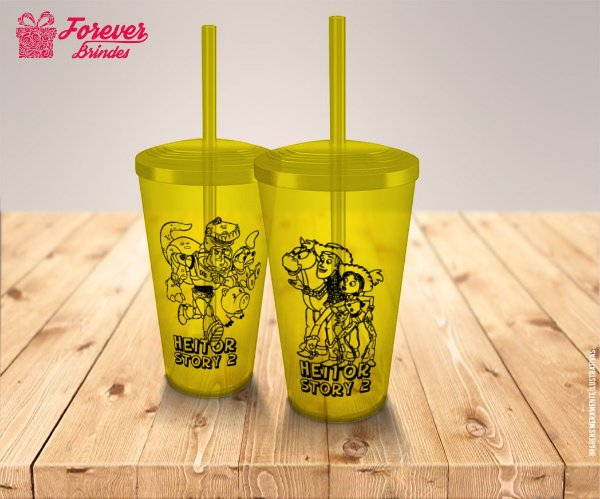Copo Twister Aniversário Toy Story