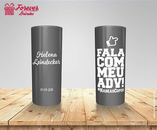 Copo Long Drink Direito Frase