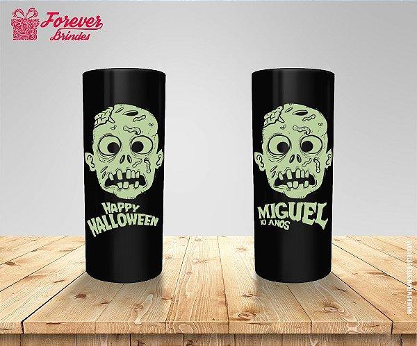 Copo Long Drink Aniversário Halloween