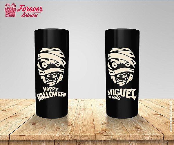 Copo Long Drink Múmia Halloween