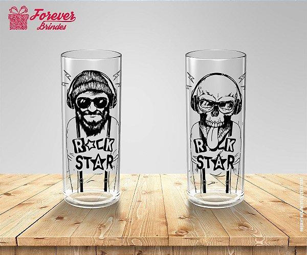 Copo Long Drink Rock Star