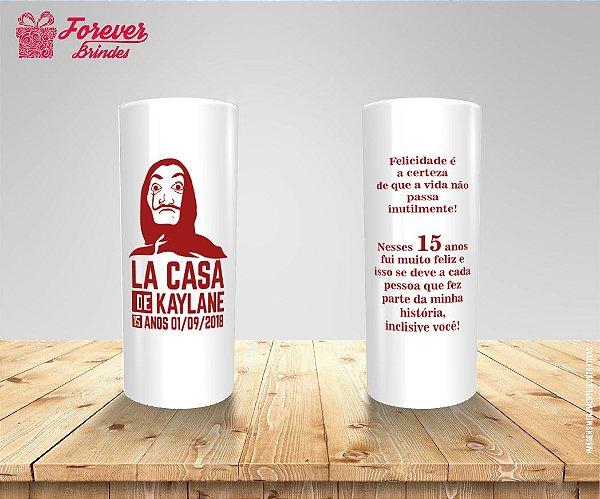 Copo Long Drink La Casa De Papel 15 Anos