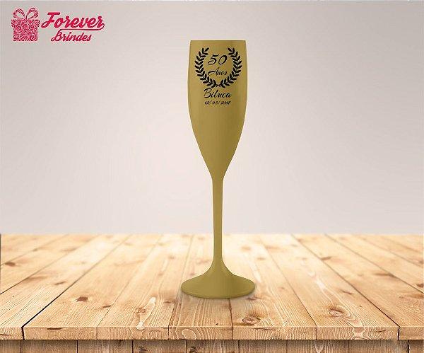 Taça De Champanhe Aniversário De 50 Anos